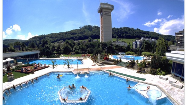 Thermalquellen Resort Turmhotel mit Thermalbad